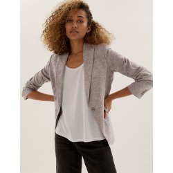 Linen Single Breasted Blazer found on MODAPINS from Marks and Spencers - US for USD $105.00