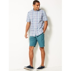 Super Light Weight Chino Shorts emerald found on MODAPINS from Marks and Spencers - US for USD $44.00