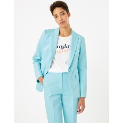 Cotton One Button Blazer found on MODAPINS from Marks and Spencers - US for USD $105.00