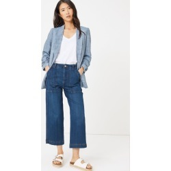 Linen Relaxed Ruched Sleeve Blazer found on MODAPINS from Marks and Spencers - US for USD $77.50