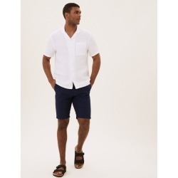 Belted Checked Chino Shorts found on MODAPINS from Marks and Spencers - US for USD $50.00