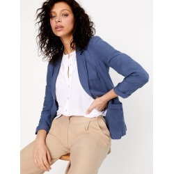 Single Breasted Blazer with Linen found on MODAPINS from Marks and Spencers - US for USD $115.00