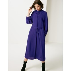 3/4 Sleeve Tea Dress cobalt found on MODAPINS from Marks and Spencers - US for USD $8.00