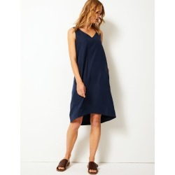 Shift Mini Dress navy found on MODAPINS from Marks and Spencers - US for USD $69.00