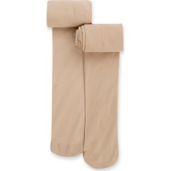 2 Pairs of Opaque Tights (6-14 Years) nude