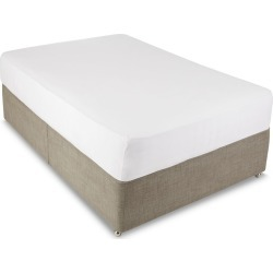 Jersey Deep Fitted Sheet white