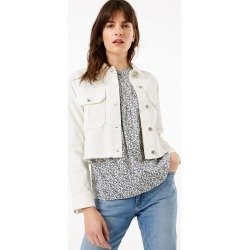 Cropped Denim Jacket found on MODAPINS from Marks and Spencers - US for USD $60.00