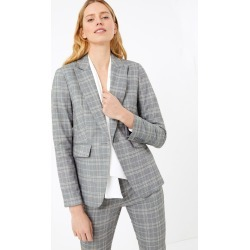 Tailored Checked Single Breasted Blazer found on MODAPINS from Marks and Spencers - US for USD $77.50