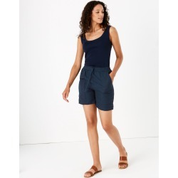 Linen Chino Shorts found on MODAPINS from Marks and Spencers - US for USD $42.50