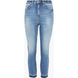 Supersoft High Waisted Skinny Cropped Jeans found on MODAPINS from Marks and Spencers - US for USD $50.00