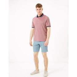 Stretch Printed Chino Shorts found on MODAPINS from Marks and Spencers - US for USD $39.00