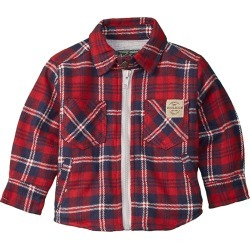 Woolrich Zip-Up Flannel Shirt