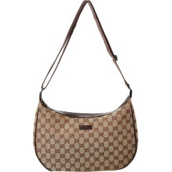 Gucci Brown GG Canvas & Leather Round Messenger Bag found on MODAPINS from Gilt City for USD $550.00