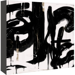 Americanflat Black And White Abstract 5 by Kasi Minami Canvas Artwork found on Bargain Bro India from Gilt City for $159.99