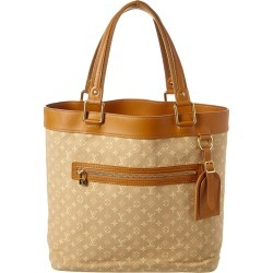 Louis Vuitton Beige Monogram Mini Lin Canvas Lucille GM found on Bargain Bro Philippines from Ruelala for $800.00