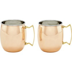 Old Dutch Set of 2 16oz Moscow Mule Mugs
