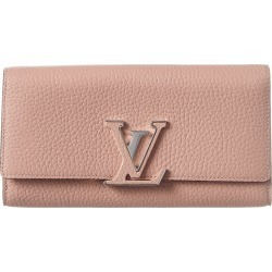 Louis Vuitton Pink Leather Capucines Wallet found on Bargain Bro Philippines from Ruelala for $1000.00