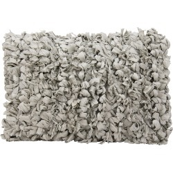 Loop Grey Shag Throw Pillow found on Bargain Bro India from Gilt for $19.99