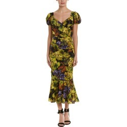 Dolce & Gabbana Ruched Silk-Blend Midi Dress found on Bargain Bro India from Gilt City for $1199.99