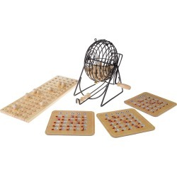 Deluxe Bingo Game with Accessories found on Bargain Bro India from Gilt for $32.99