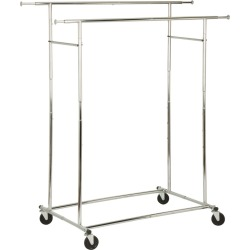 Honey-Can-Do Dual Collapsible Garment Rack