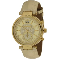 Michael Kors Women's Leather Watch