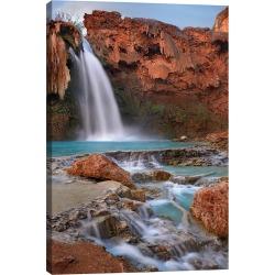 iCanvas Havasu Falls, Grand Canyon, Arizona III by Tim Fitzharris Wall Art found on Bargain Bro Philippines from Gilt for $79.99