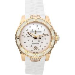 Ulysse Nardin Women's Rubber Diamond Watch found on MODAPINS from Gilt City for USD $16849.00