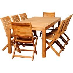 international home miami Bradley 9pc Patio Dining Set