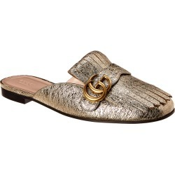 Gucci Marmont Metallic Leather Mule found on MODAPINS from Gilt City for USD $639.99