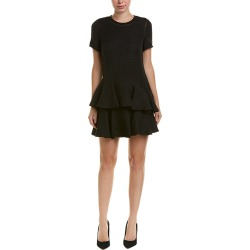 Rebecca Taylor Silk-Trim Jacquard A-Line Dress found on Bargain Bro India from Gilt for $99.99