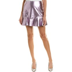 Rebecca Taylor Metallic Leather Skirt found on Bargain Bro India from Gilt for $169.99