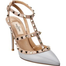 Valentino Rockstud Caged 100 Leather Pump found on Bargain Bro India from Gilt for $799.99