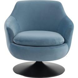 Safavieh Couture Citrine Velvet Swivel Accent Chair found on Bargain Bro India from Gilt for $519.99
