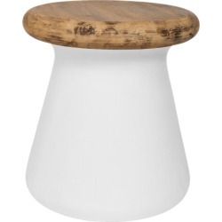 Safavieh Button Indoor/Outdoor Modern Concrete Round 18.1in Accent Table found on Bargain Bro from Ruelala for USD $155.79