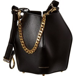 Alexander McQueen The Bucket Small Leather Bucket Bag found on MODAPINS from Gilt City for USD $1299.00