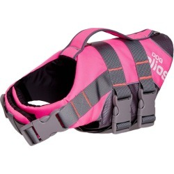 Pet Life Helios Splash-Explore Outer Performance 3M Reflective and Buoyant Dog Harness and Life Jacket