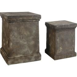 A&B Home Set of 2 Pedestals