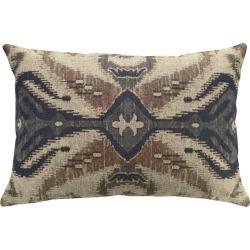 Global Ikat Linen Pillow