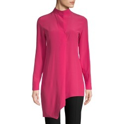 Akris Asymmetric Silk Button-Down Shirt found on MODAPINS from Ruelala for USD $549.99