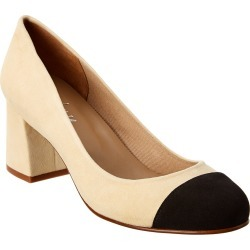 French Sole Tourist Suede Pump