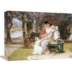 Global Gallery Me Too? by Frederick Morgan found on Bargain Bro India from Gilt for $119.99