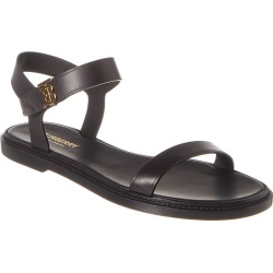 Burberry Monogram Motif Leather Sandal found on Bargain Bro India from Gilt for $399.99