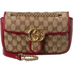 Gucci Marmont Mini GG Canvas & Leather Shoulder Bag found on MODAPINS from Ruelala for USD $1499.99