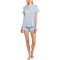 Catherine Malandrino 2pc Pajama Short Set