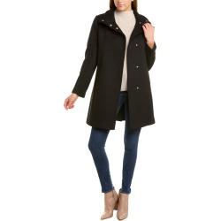 Cole Haan Signature Topper Wool-Blend Coat