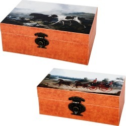 A&B Home Set of 2 Boxes