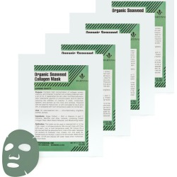 Martinni Beauty 4pc Organic Seaweed Collagen Mask found on Bargain Bro from Gilt City for USD $25.07