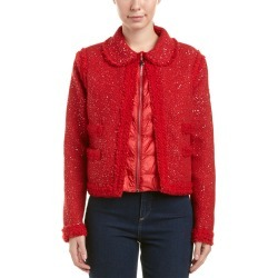 Moncler Padded Wool-Blend Boucle Jacket found on Bargain Bro India from Ruelala for $1339.99