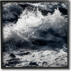 Blue Ocean Waves Distressed Surface by Marcus Prime Framed Art found on Bargain Bro India from Ruelala for $39.99